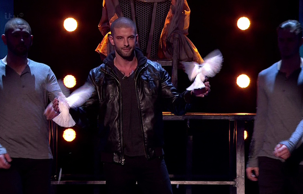 Britain's Got Talent Semi Final Live Show - Darcy Oake - shown on ITV1 HD - 26 May 2014.
