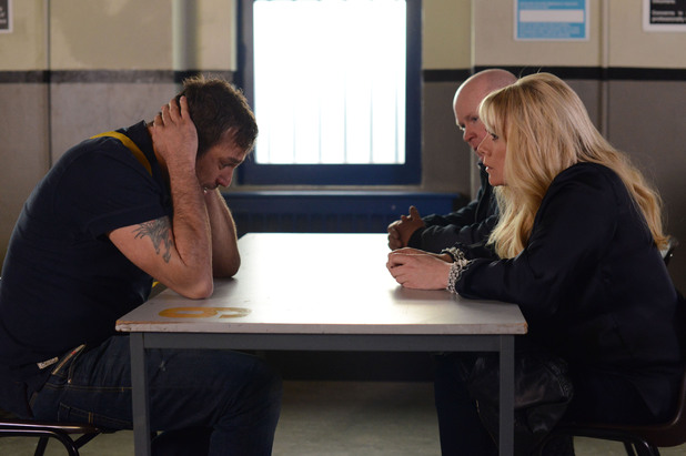 EastEnders, Sharon visits Jake, Mon 2 Jun