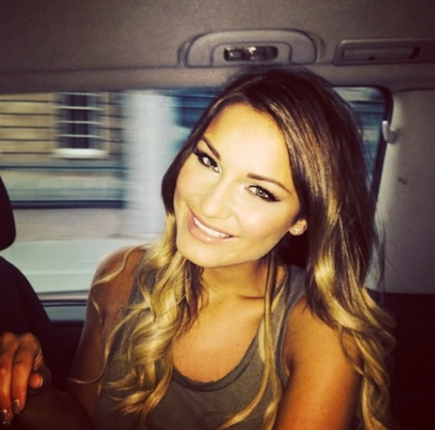 Sam Faiers in Instagram picture