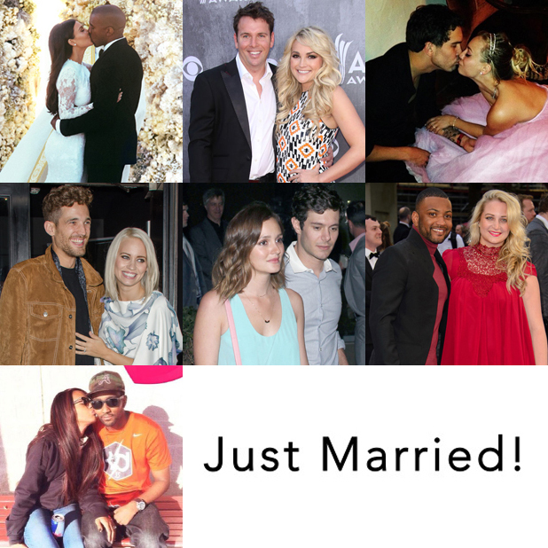 Celebrities who have married in 2014 - pictures