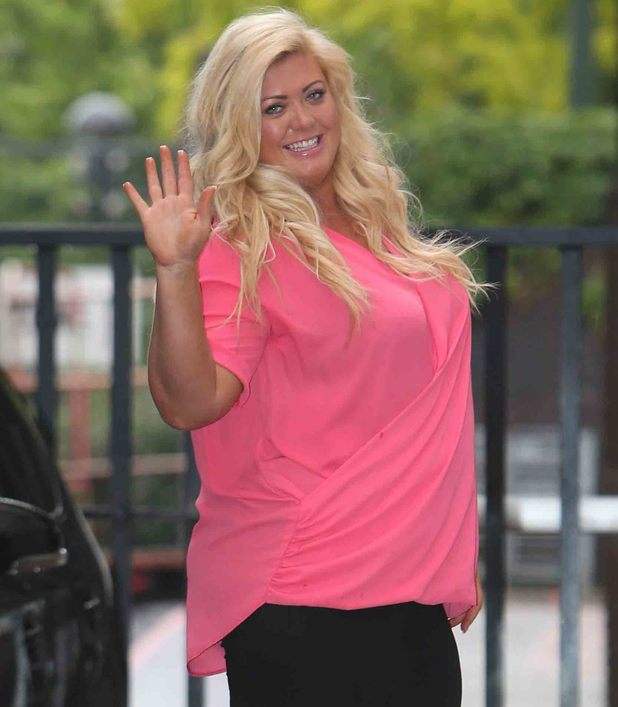 Gemma Collins appears at Good Morning Britain to talk weight loss - 27 May 2014