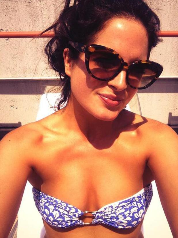 Made In Chelsea's Binky Felstead shares sunny selfie from New York (27 May).