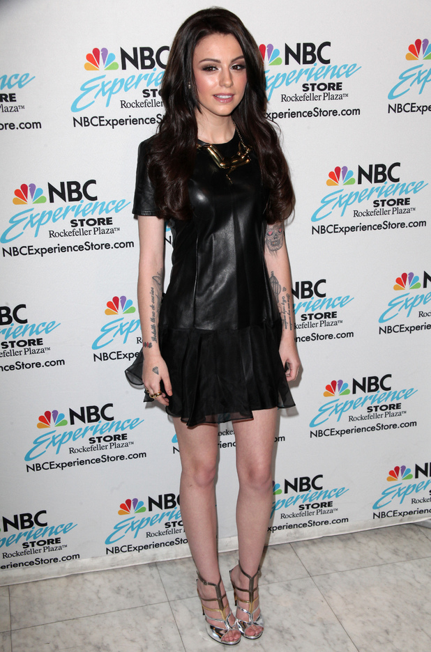 Cher Lloyd promotes her new album 'Sorry I'm Late' at the NBC Experience Store, 27 May 2014