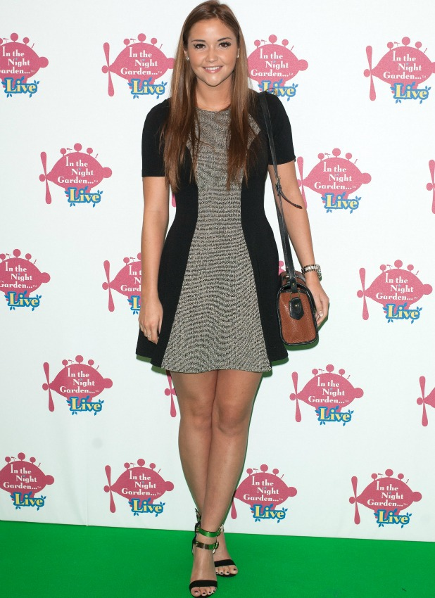 Jacqueline Jossa at Celebrity Gala of In the Night Garden Live held at the O2 London, 31 May 2014