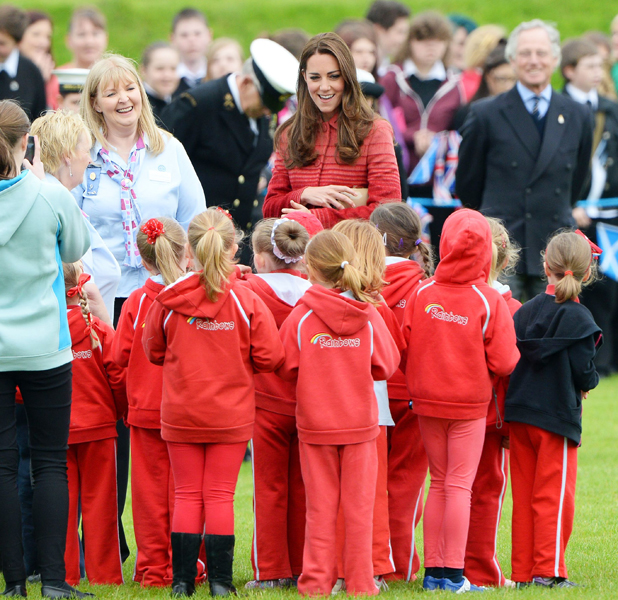 Prince William and Catherine Duchess of Cambridge visit Scotland, Britain - 29 May 2014
