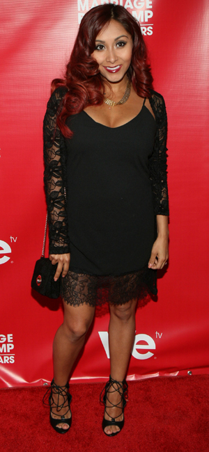 Snooki at Marriage Boot Camp: Reality Stars Celebration held at Catch Rooftop, 29 May 2014