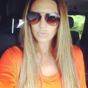 Danielle Lloyd - new blonde hair, Instagram - 3 June