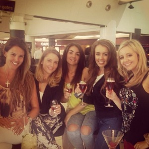 Danielle Lloyd hits Vegas for 30th with friends - Instagram, 4 June