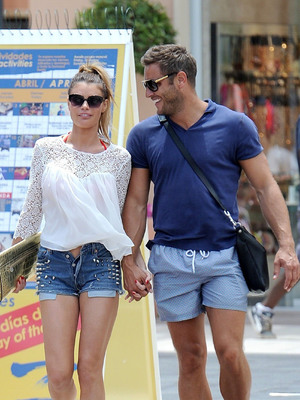 EXCLUSIVE SET - 'The Only Way is Essex' Stars Chloe Sims and Elliott Wright In Alicante, Spain.