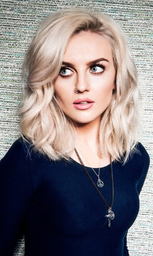 Perrie Edwards promotes the new Little Mix lip balms and eyeshadow palette for Collection cosmetics - June 2014