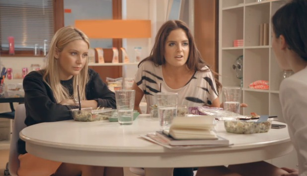 Binky Felstead clashes with Friends, Made In Chelsea, E4 - 2 June