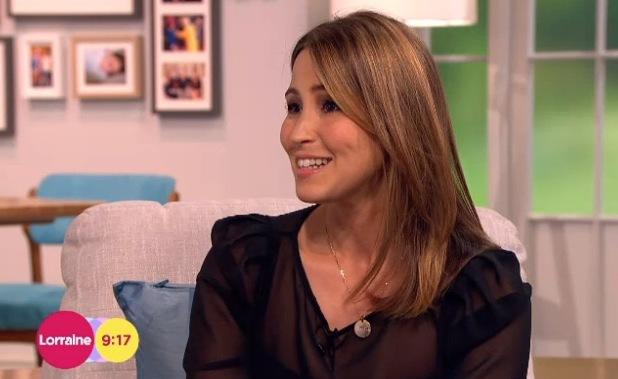 Rachel Stevens on Lorraine, ITV, London - 5 June