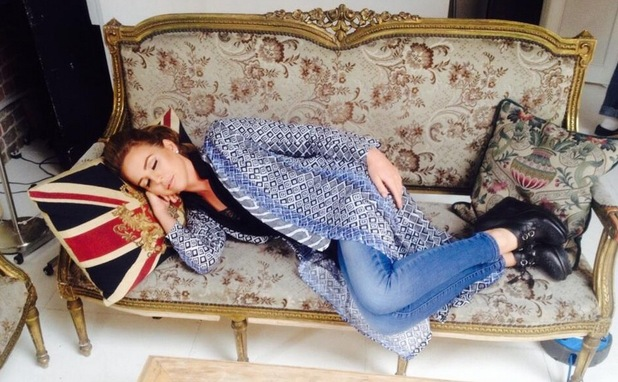 Lydia Bright takes a nap to promote re-release of Sleeping Beauty, Twitter, 2 June