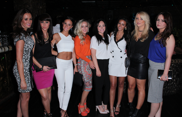 Michelle Keegan celebrates her 27th birthday with friends in Shaka Zulu, 6 June 2014