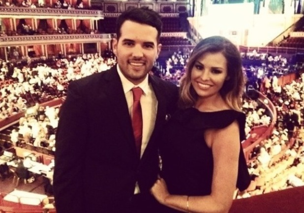 TOWIE's Ricky Rayment and Jessica Wright pose at the Royal Albert Hall for Symfunny Parkinsons UK concert - 5 June 2014