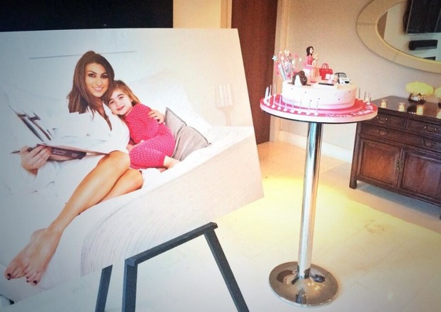 Luisa Zissman shares pictures from her surprise 27th birthday party - 5 June 2014