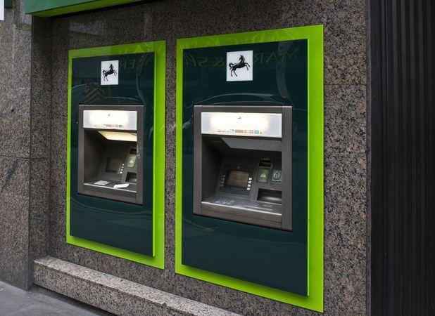 Anonymous got stuck inside an ATM