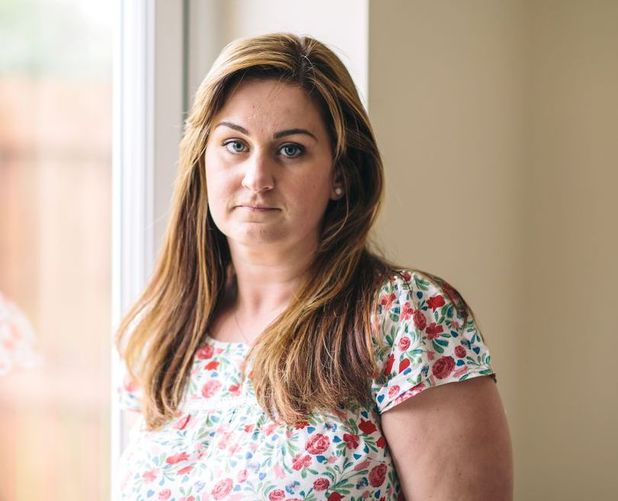 Nicola Richardson who was raped by her police officer husband Wayne Scott