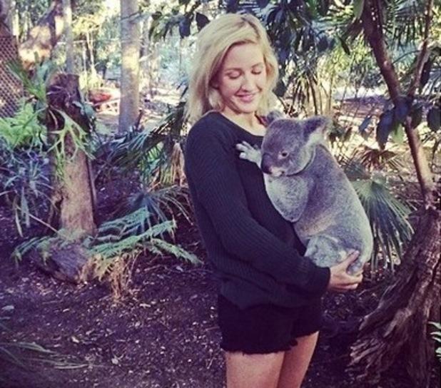 Ellie Goulding on tour in Oz - Queensland, Instagram, 5 June