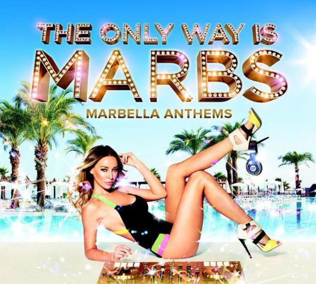 TOWIE's Lauren Pope set to release own compilation album, The Only Way is Marbs: Marbella Anthems. (3 June).
