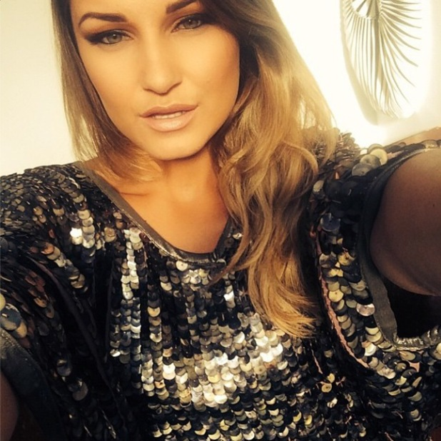 Sam Faiers takes a selfie at Graduate Fashion Week - 3 June 2014
