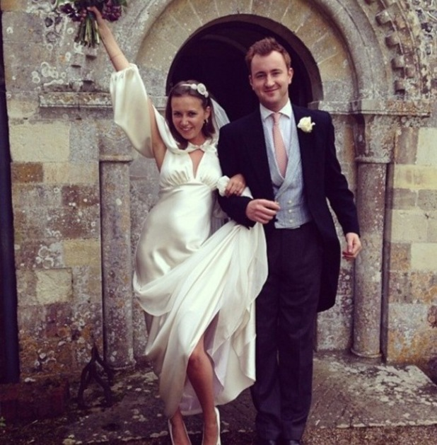 Made In Chelsea star Francis Boulle pulls wedding prank on fans in Instagram photo (3 June).