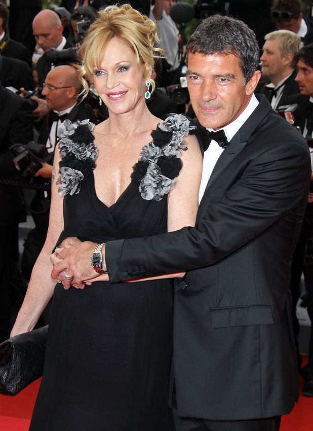 Melanie Griffith and Antonio Banderas at the 2011 Cannes International Film Festival
