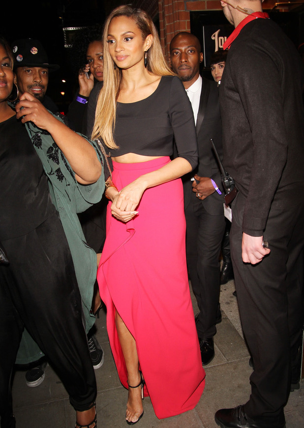 Alesha Dixon: Celebrities at Belle UK premiere afterparty held at the Hippodrome - 5 June 2014