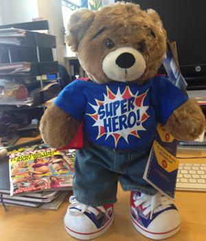 Huggable Hero from Build-A-Bear-Workshop, 2014
