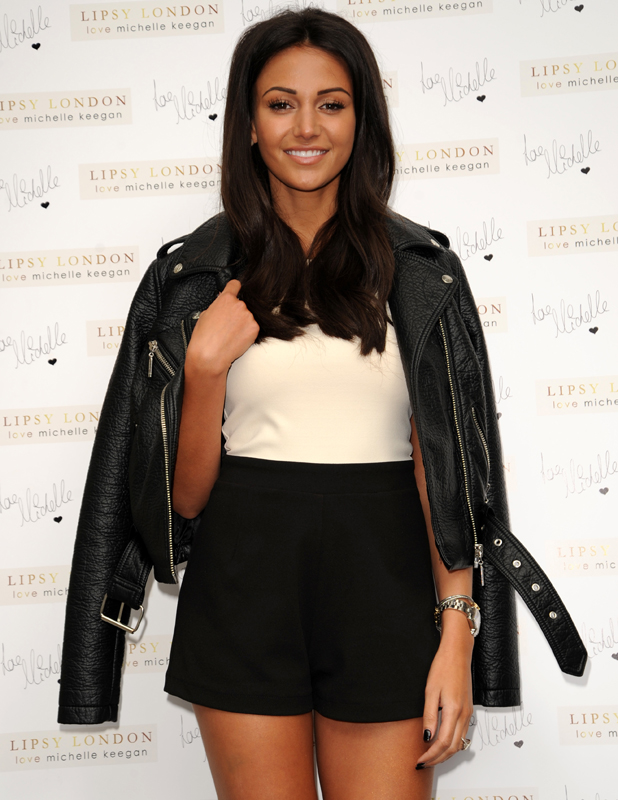 Michelle Keegan, pictured at the Lipsy Photocall outside the ME Hotel in London, 3 June 2014