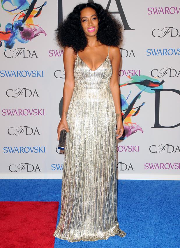 Solange Knowles, 2014 CFDA Fashion Awards - Red Carpet Arrivals, 2 June 2014