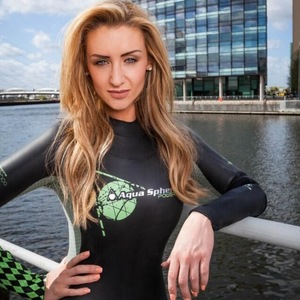 Catherine Tyldesley, Great Swim 2014, Twitter, 10 June