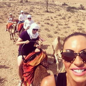 Jodie Marsh shares pictures from her Discovery Channel trip to Morocco - 13 June 2014