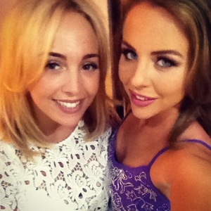 TOWIE, Lydia Bright and cousin in Marbella, Instagram, 11 June