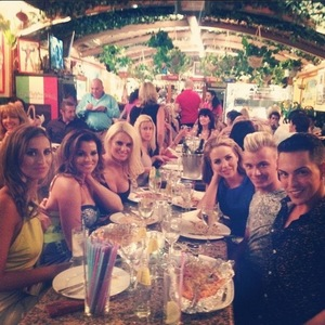 TOWIE, Lydia Bright and cast in Marbella, Instagram, 8 June