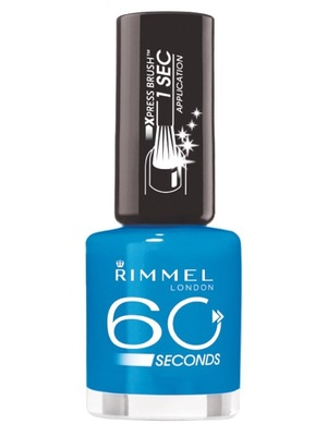 Rimmel 60 Seconds Nail Polish in Blue Eyed Girl, £3.69