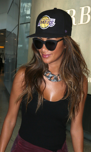 Nicole Scherzinger, London Heathrow, 8 June