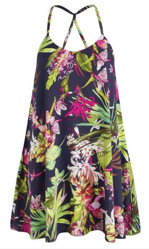 AX Paris Women's Tropical Print Swing Dress,  £25