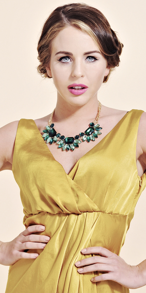 Lydia Rose Bright looks amazing in her new accessory collection