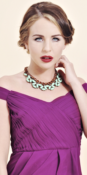 Lydia Rose Bright wearing her own collection for vintagestyler.co.uk