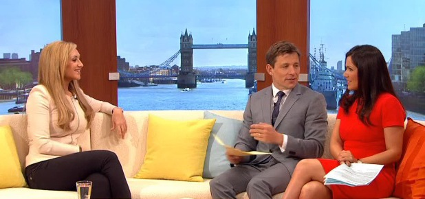 Catherine Tyldesley, Good Morning Britain, ITV, 10 June