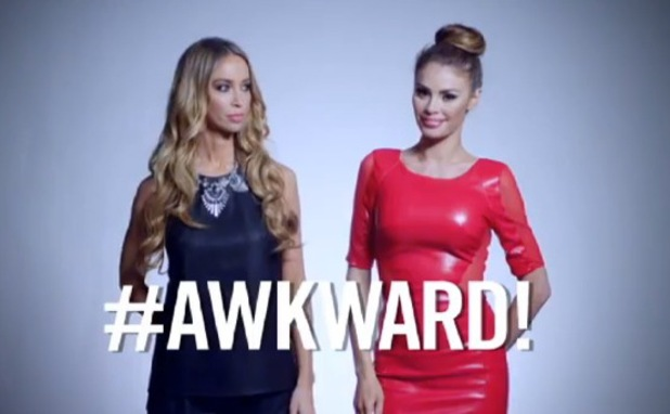 TOWIE Marbella trailer is released showing Chloe Sims and Lauren Pope together with 'awkward' caption - 12 June 2014