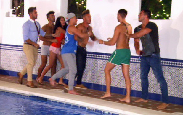 Ex On The Beach, Ashley Cain and Liam Lewis, MTV, 10 June