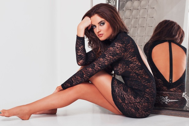 Made In Chelsea's Binky Felstead poses as the new face of Bluebella lingerie - 10 June 2014