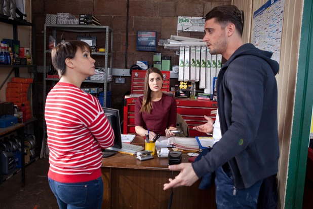 Hollyoaks, Nancy wants Sienna gone, Mon 16 Jun
