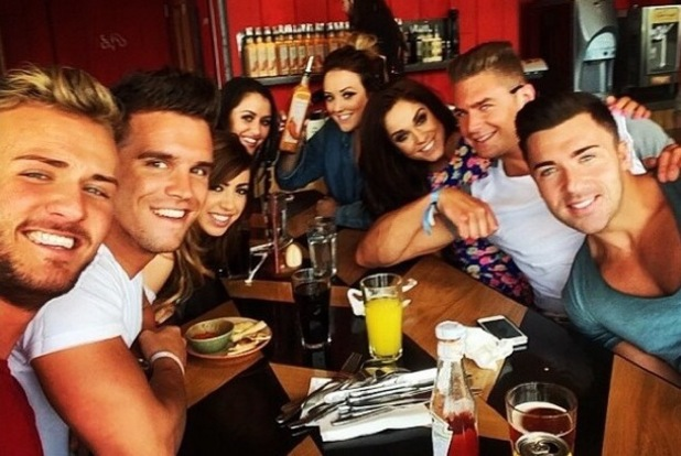 Geordie Shore cast, Nandos, Newcastle, Instagram, 11 June