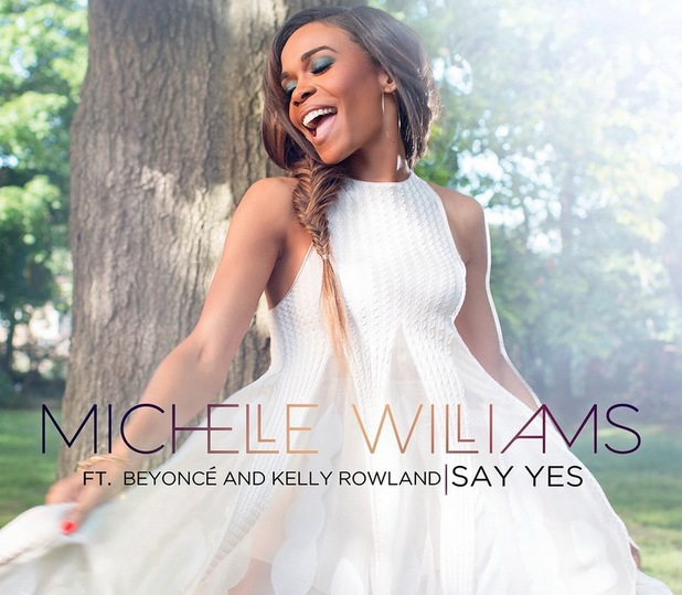Michelle Williams, Say Yes single cover, Twitter, June