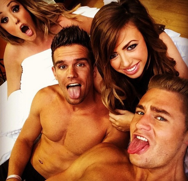 Geordie Shore photoshoot, Newcastle, 11 June