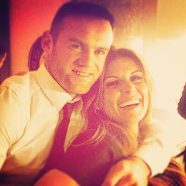Coleen Rooney and Wayne Rooney celebrated their 6th wedding anniversary together - 12 June 2014