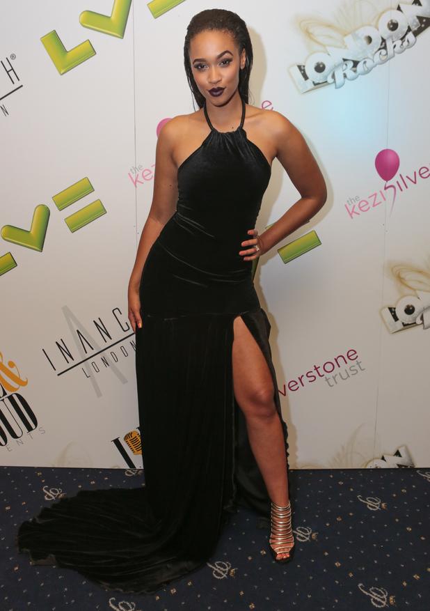Tamera Foster steps out at Café de Paris in London for London Rocks 2014 - 5 June 2014